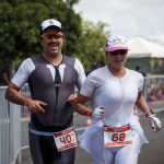 TRIATHLETES EXCHANGE THEIR HONEYMOON ON THE BEACH BY CHALLENGE SAMORIN AND ROTH'S RACES