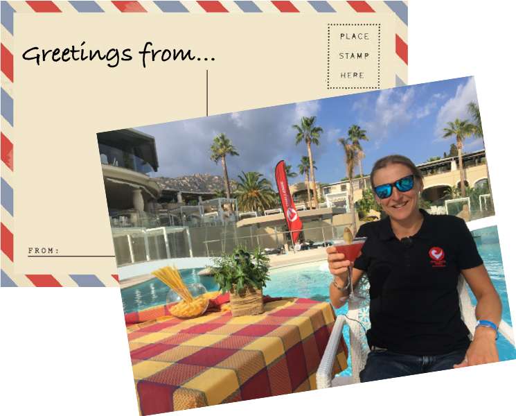 Postcard From Sid Greetings From Daytona Florida Challenge Family