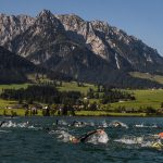 Challenge Kaiserwinkl-Walchsee decor for 2021 Middle Distance Triathlon, Aquathlon and Aquabike European Championships