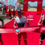 Javier Gómez (ESP) and Romina Palacio Balena (ARG) fastest athletes Challenge Cancun